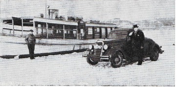 Bil på isen