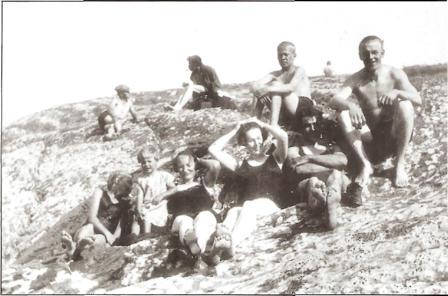 KJØKKENODDEN 1928: Lund med venner