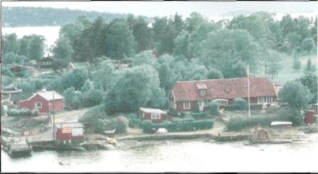 STAMHUSET: Fra 1750 er øyas eldste hus.