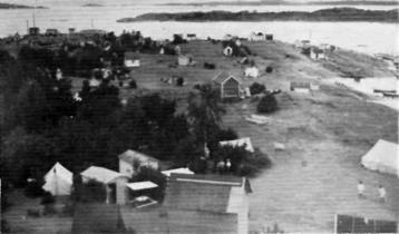Utsyn fra Romertoppen, 1922 ...